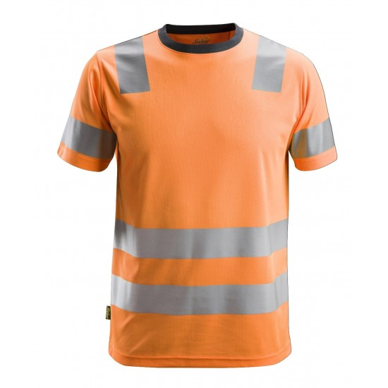 Snickers 2530 AllroundWork Class 2 Hi Vis T-Shirt