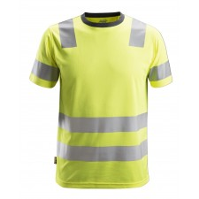 Snickers 2530 AllroundWork Class 2 Hi Vis T-Shirt