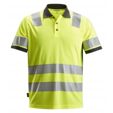 Snickers 2730 AllroundWork Class 2 Hi Vis Polo Shirt