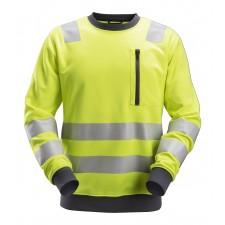 Snickers 8037 AllroundWork Class 2/3 Hi Vis Sweatshirt