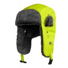 Snickers 9029 RuffWork, High-Vis Trapper Mütze mit Ohrenklappen