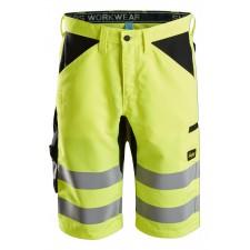 Snickers 6132 LiteWork Class 1 Hi Vis Shorts