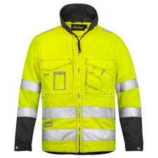 Snickers 1633 High Vis Jacke, Klasse 3