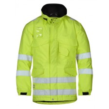 Snickers 1823 High-Vis Winterparka, Klasse 3