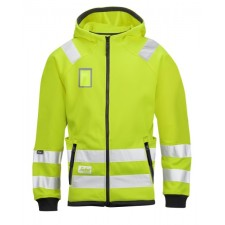 Snickers 8043 High-Vis Mikro Fleece Jacke, Klasse 3
